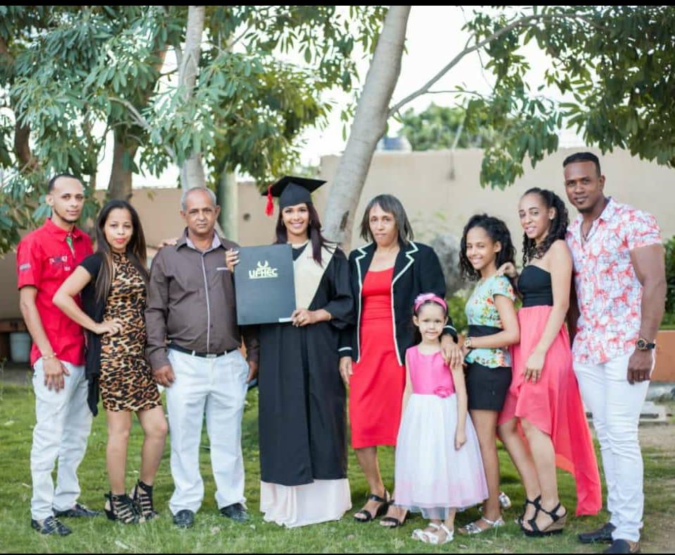 Carolina en haar familie